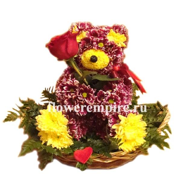 Свадебная флористика из живых цветов 190
