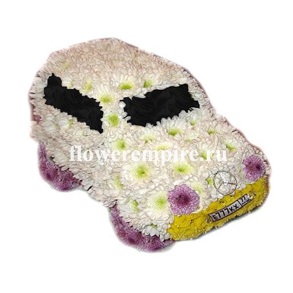 Свадебная флористика из живых цветов 11