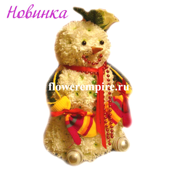 Снеговик Морковкин