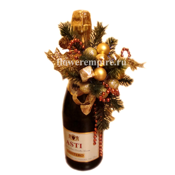 Конфеты к шампанскому, новый год